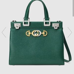 Authentic gucci zumi grainy leather bag